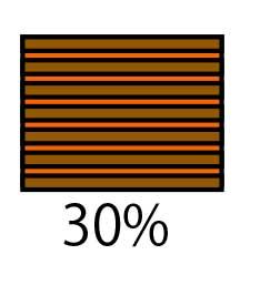 白髪が30%ある人のカラーリング