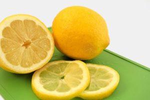 レモンの黄色